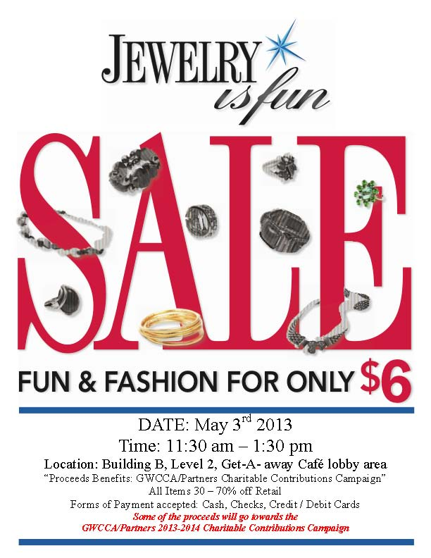 SCCP Jewelry Is  Fun Fundraiser 2013