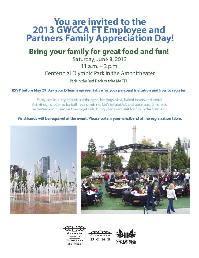 Employee Picnic Flyer 2013
