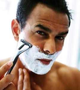 Man-shaving