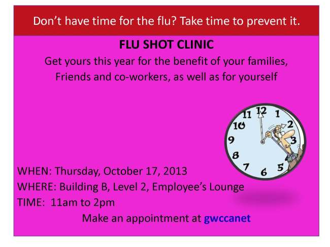 Dont have time for the flu