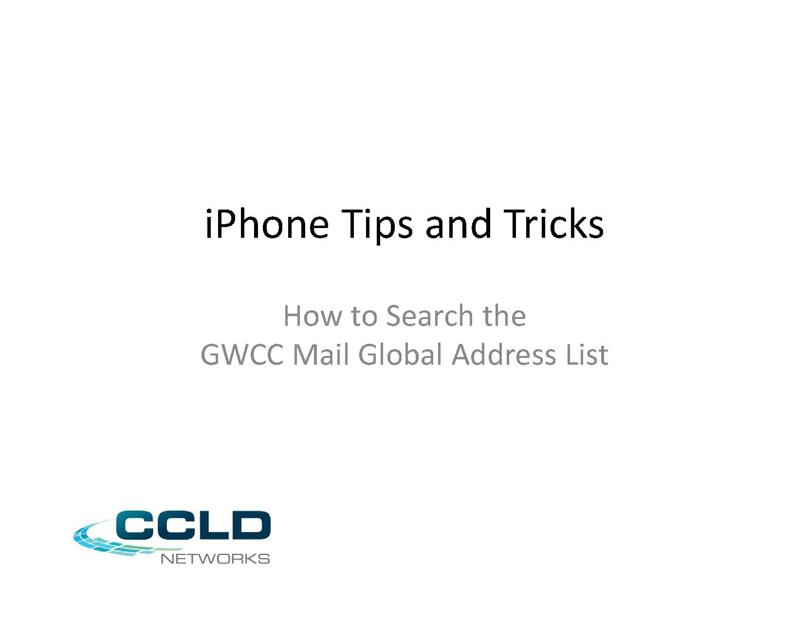 how to find out global address