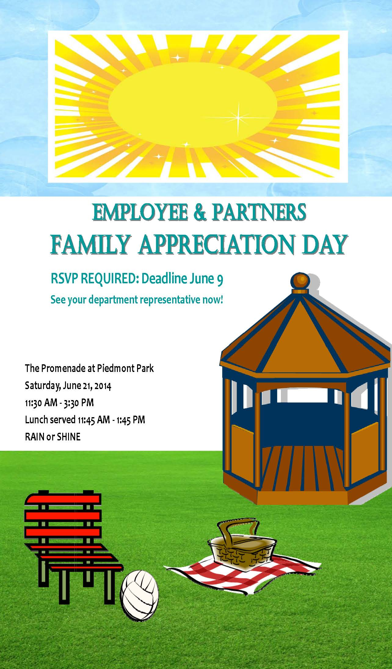 Family Appreciation Day June 21st, RSVP by June 9th | Catalyst