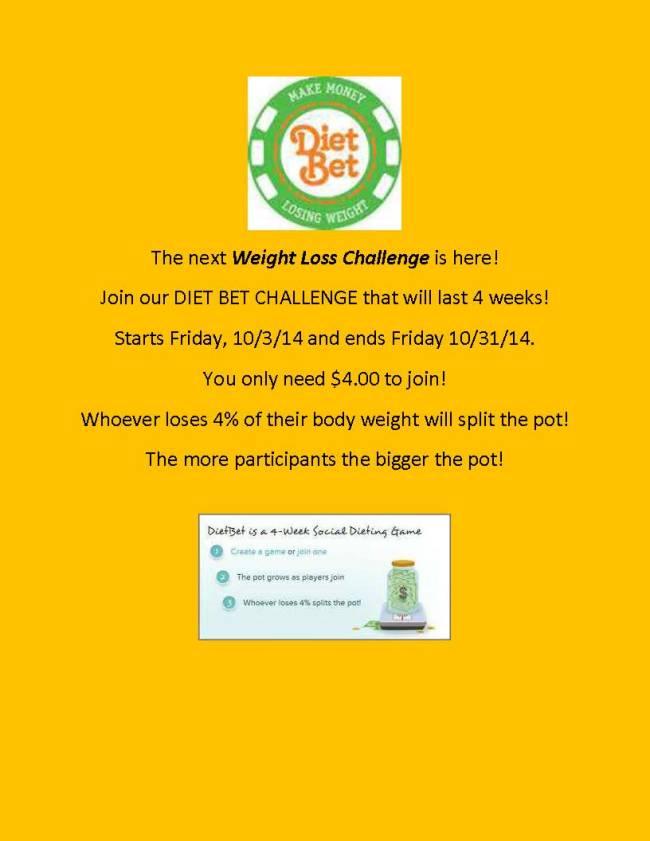 Diet Bet Challenge