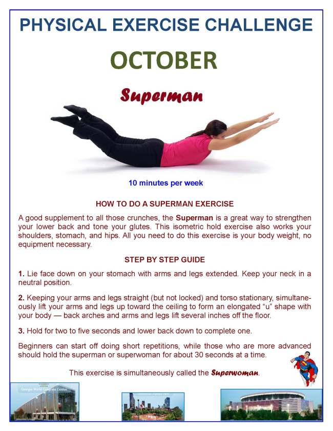 October Physical Exercise Challenge