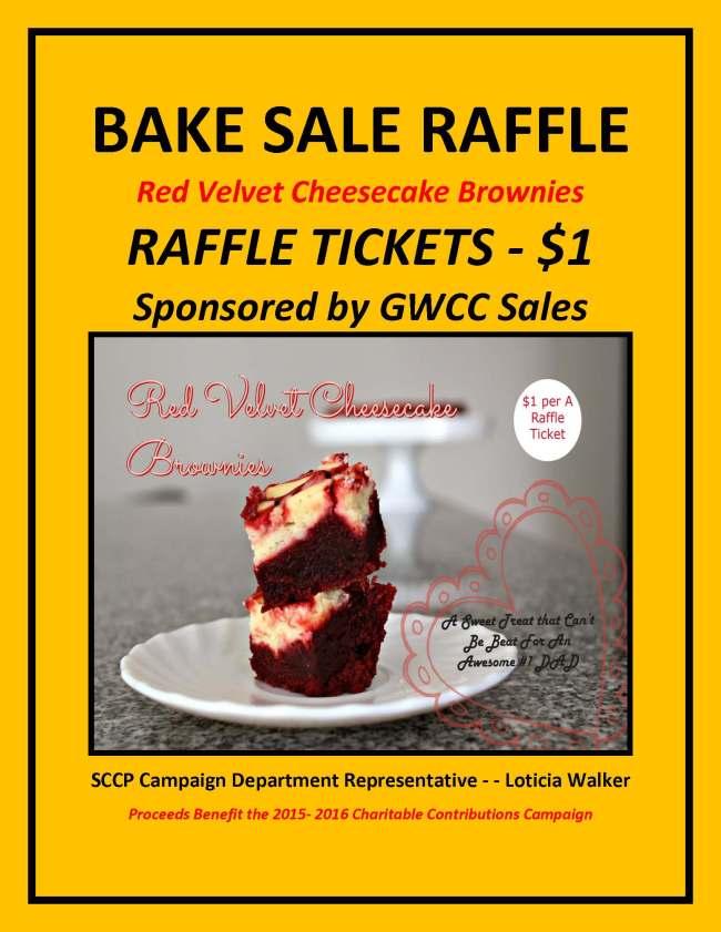 SCCP June Fundraiser Raffle BAKE SALE GSales 2015