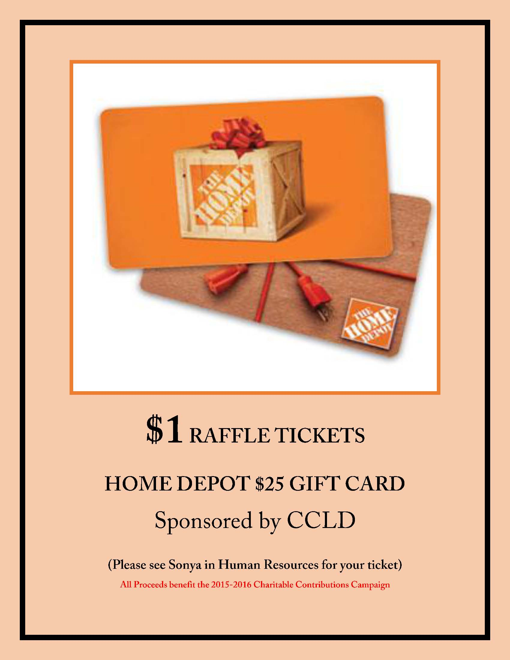 home depot raffle tickets image of local worship