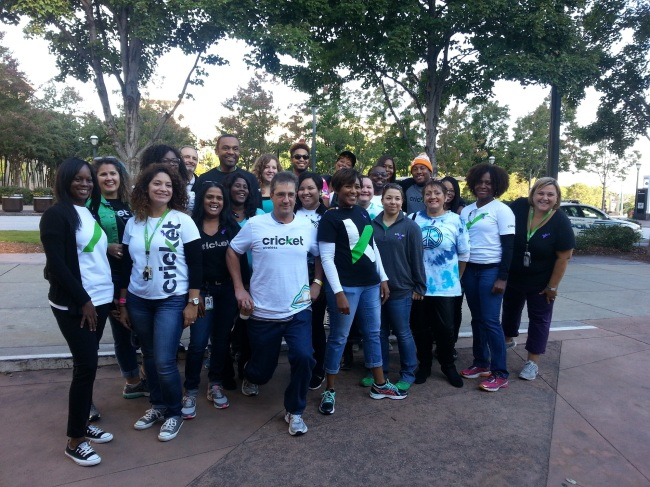 Cricket Wireless Volunteers