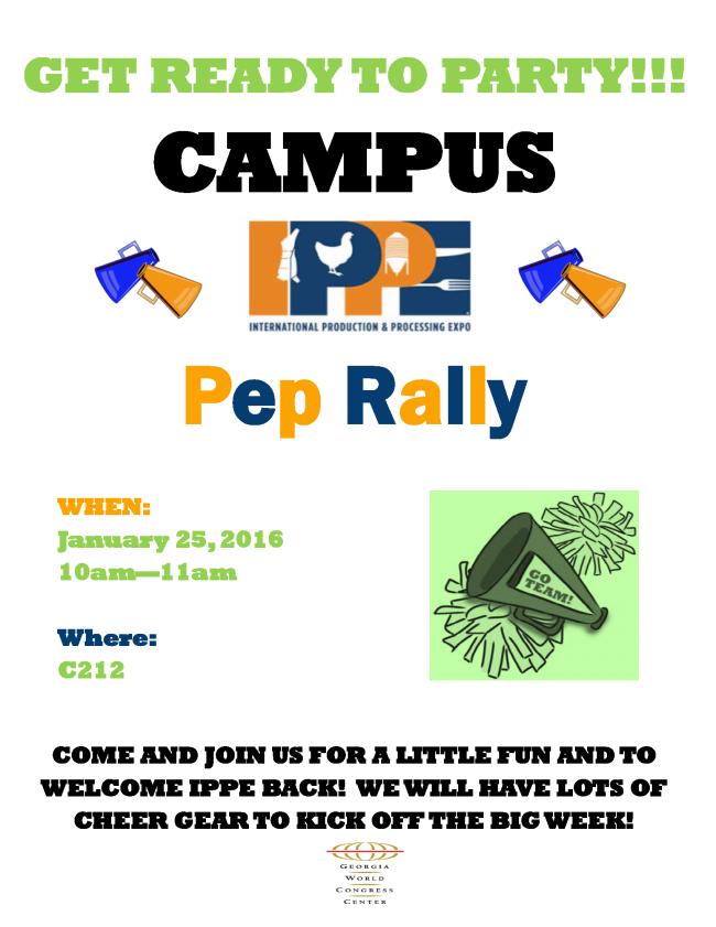 Pep Rally - IPPE
