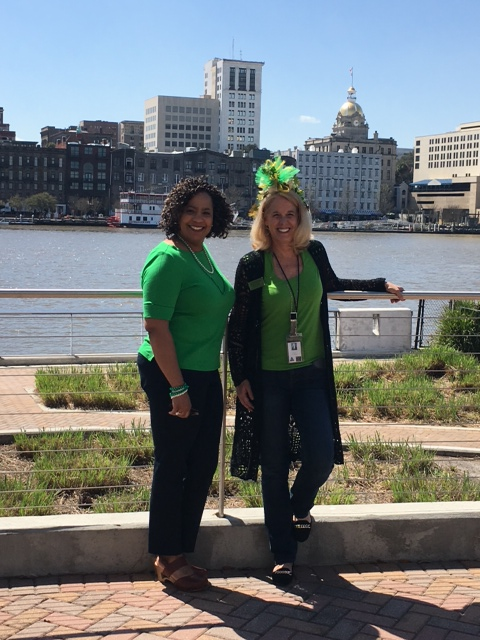 St Patricks Day 2016 (Fredia and Sherrie)