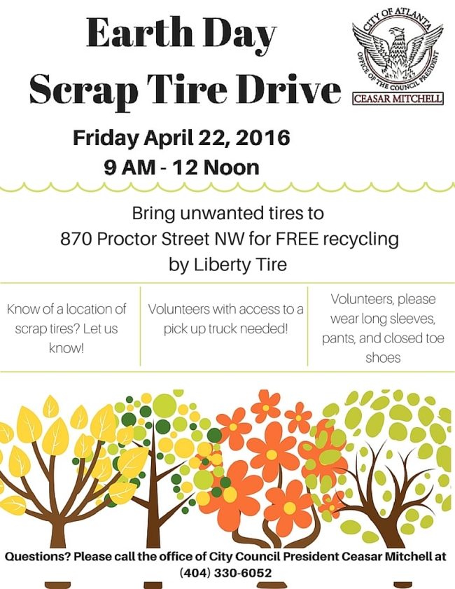 Earth Day Scrap Tire Clean Up 2016 (1)