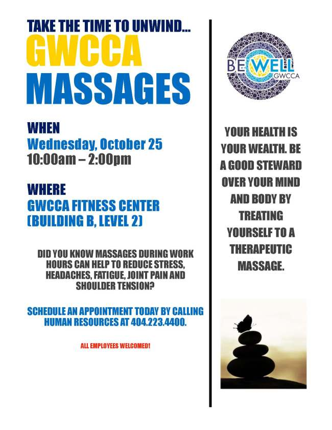 Wellness Massages Flyer