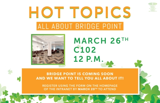 Hot Topics - All About Bridge Point